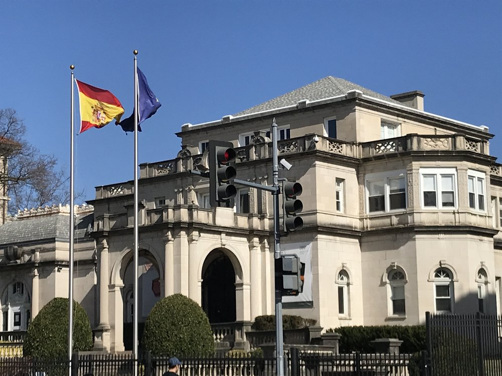 The Former Residence of the Ambassadors of Spain.