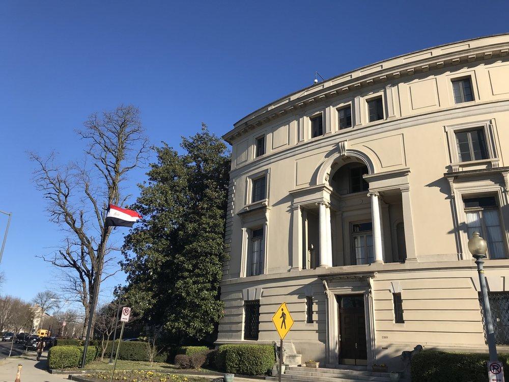 Residence of the Egyptian Ambassador.