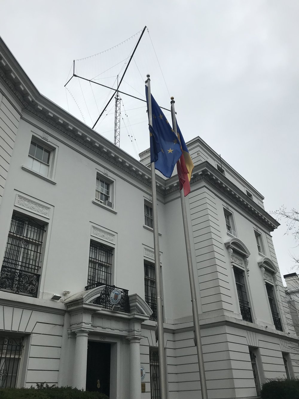 The Embassy of Romania.
