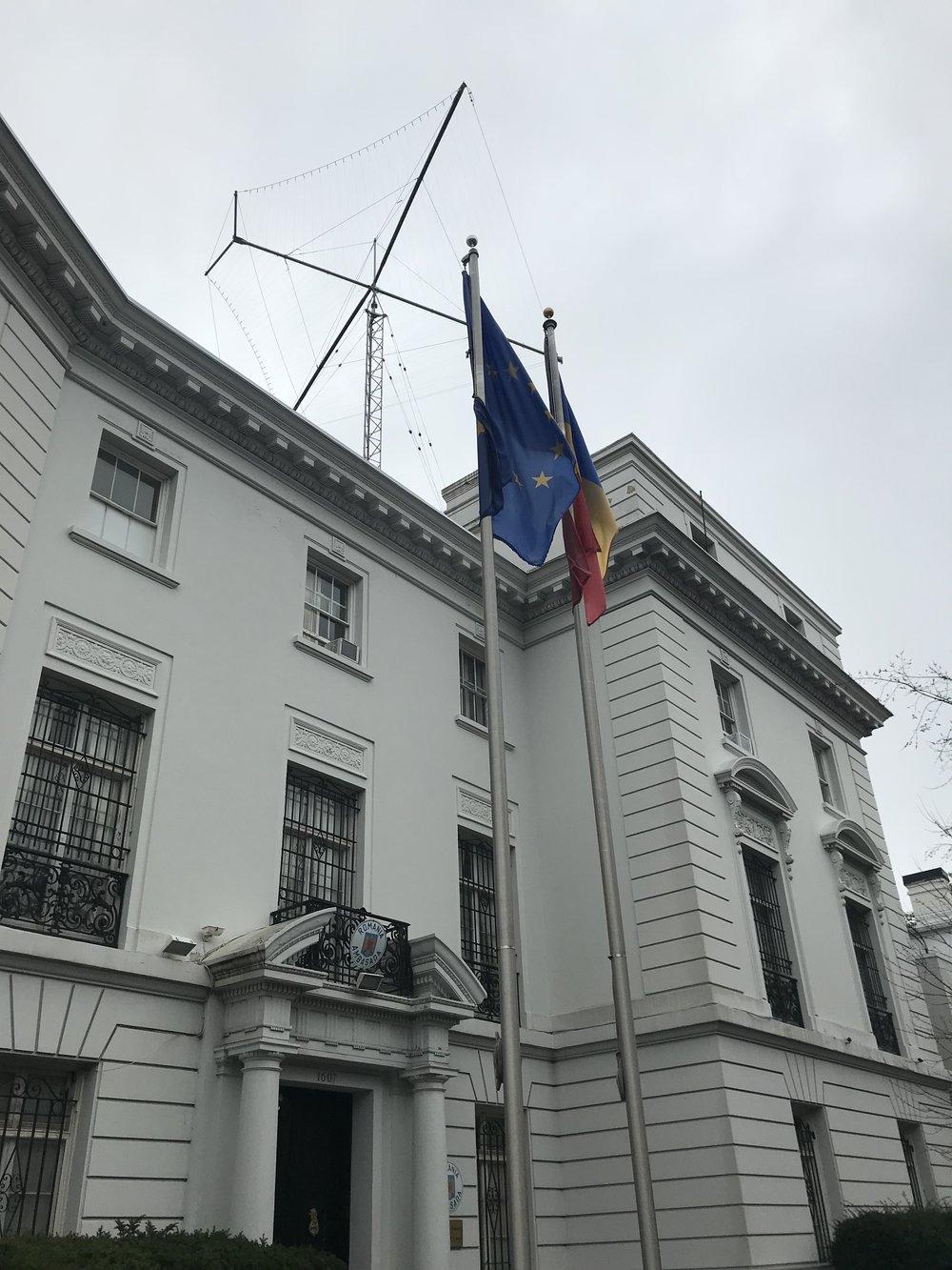 The Embassy of Romania.