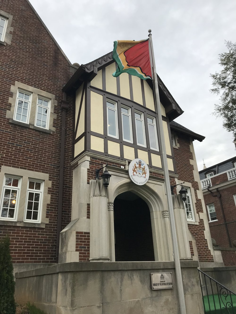 The Embassy of Guyana.