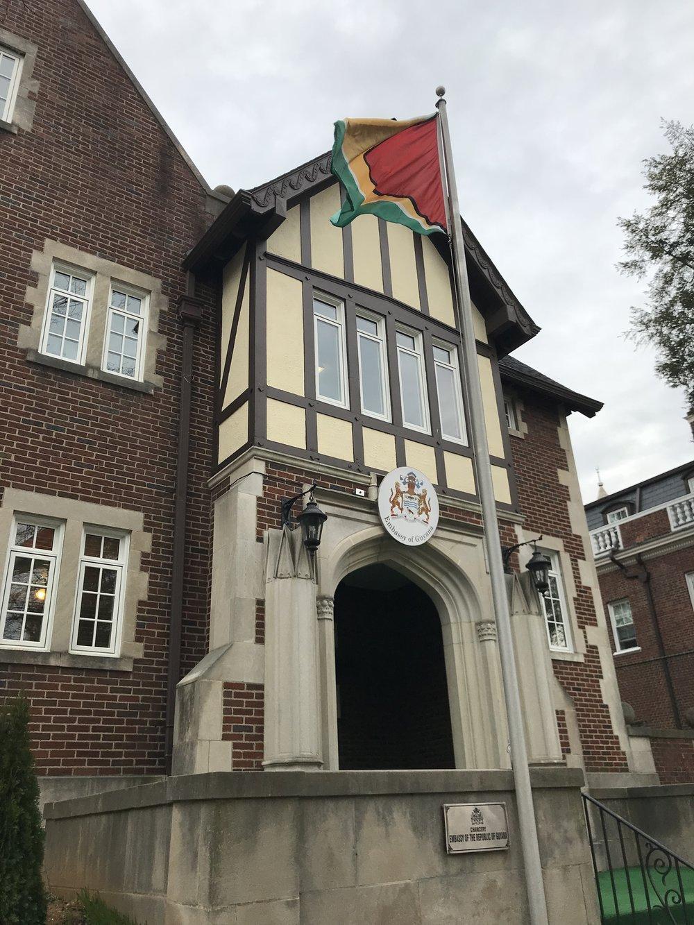 The Embassy of Guyana.