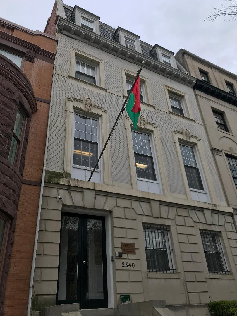 The Embassy of Burkina Faso.