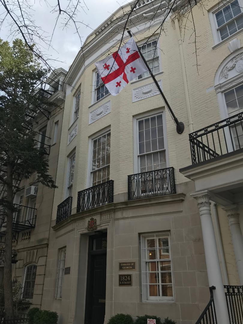The Embassy of Georgia.