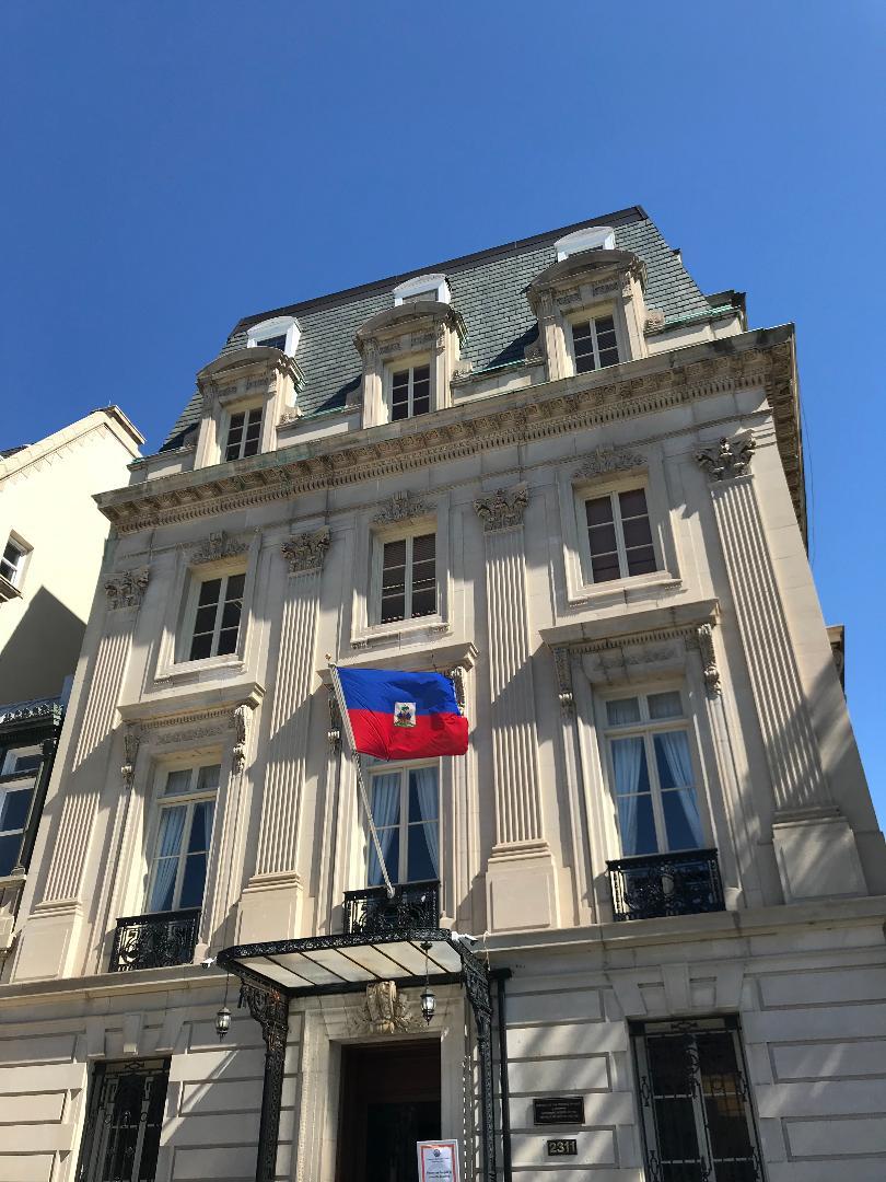 The Embassy of Haiti.