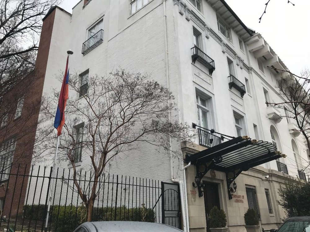 The Embassy of Armenia.