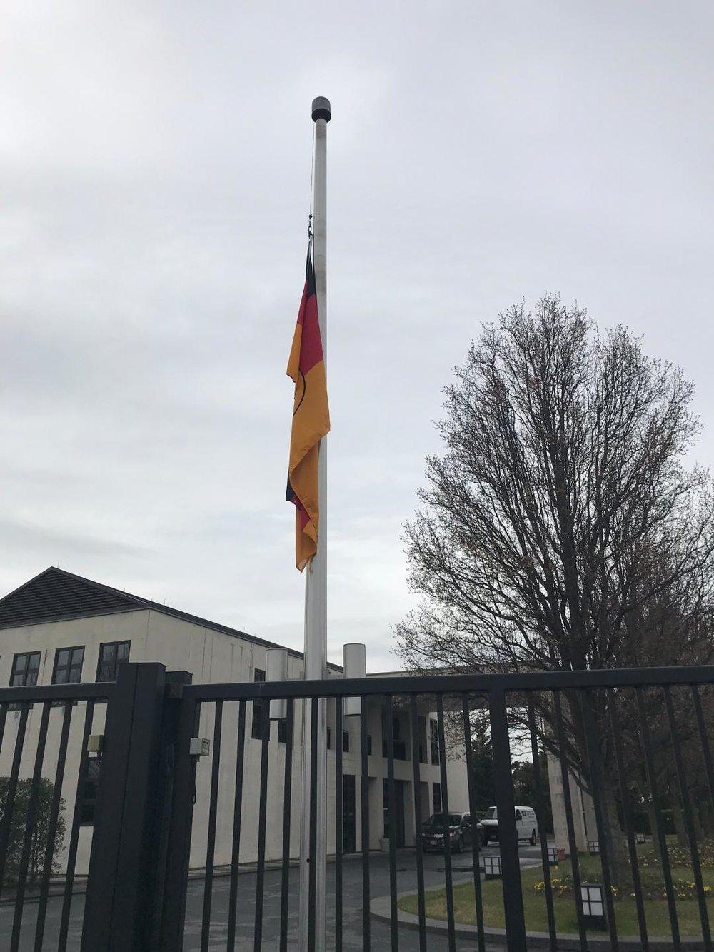 Residence of the German Ambassador.