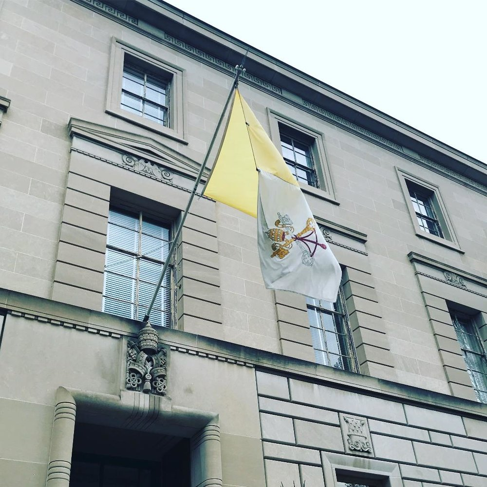 The Embassy of the Vatican.