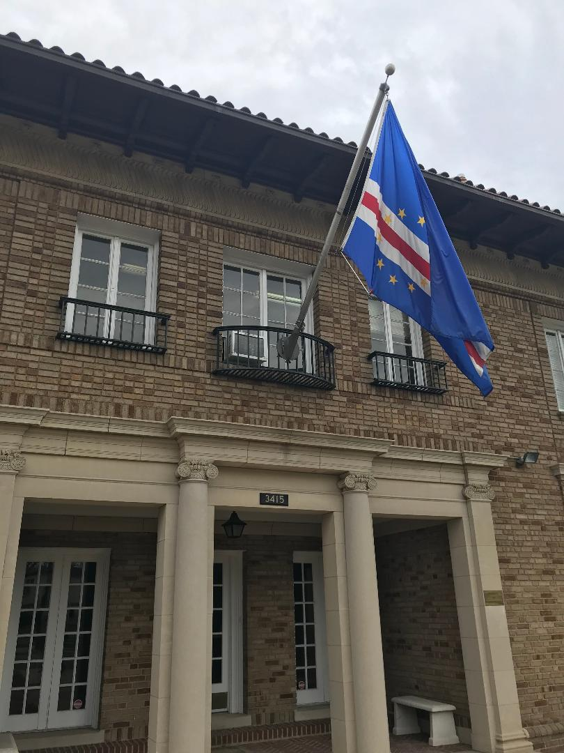 The Embassy of Cape Verde.