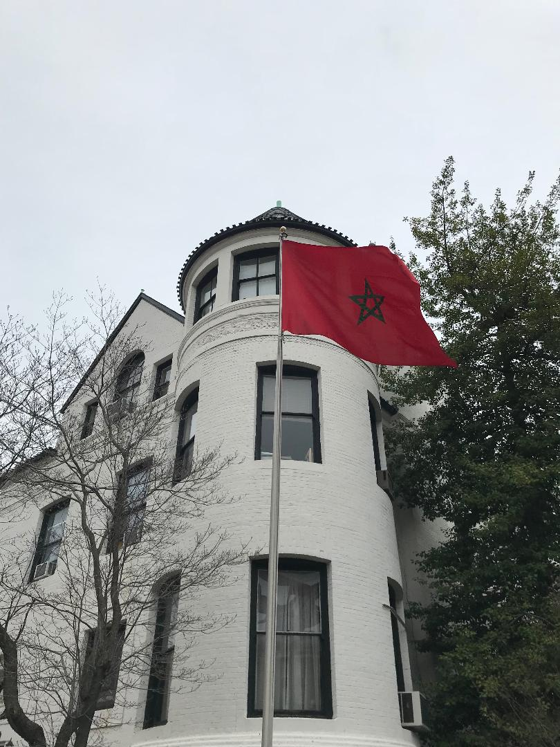 The Embassy of Morocco.