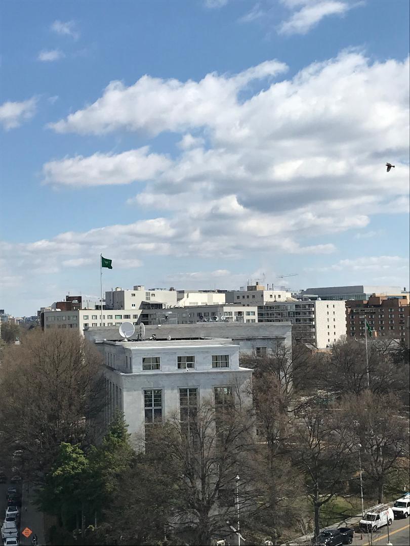 The Embassy of Saudi Arabia.