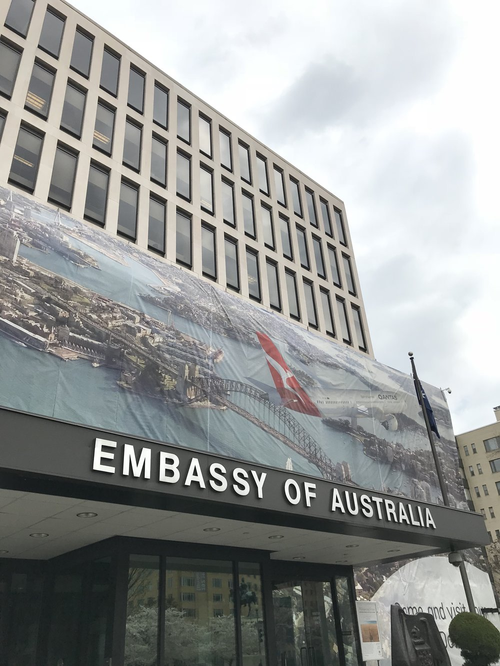 The Embassy of Australia.