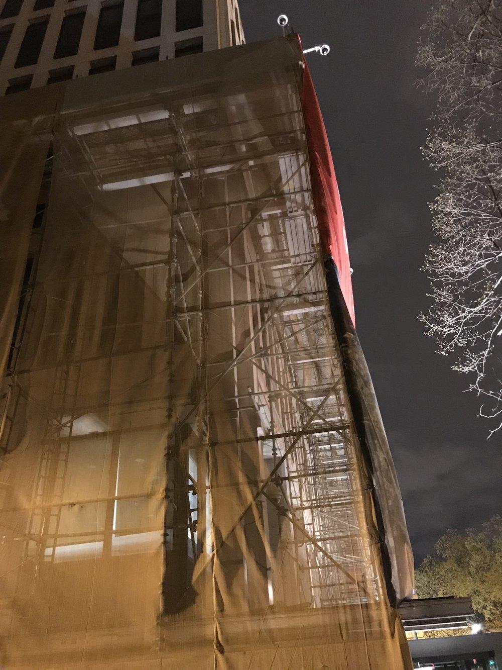 The Embassy of Australia under construction.
