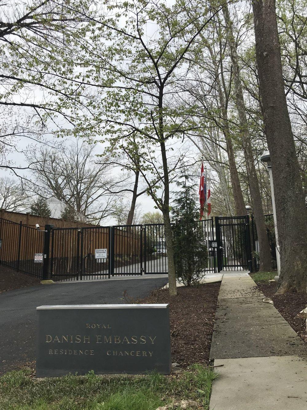 The Royal Danish Embassy.