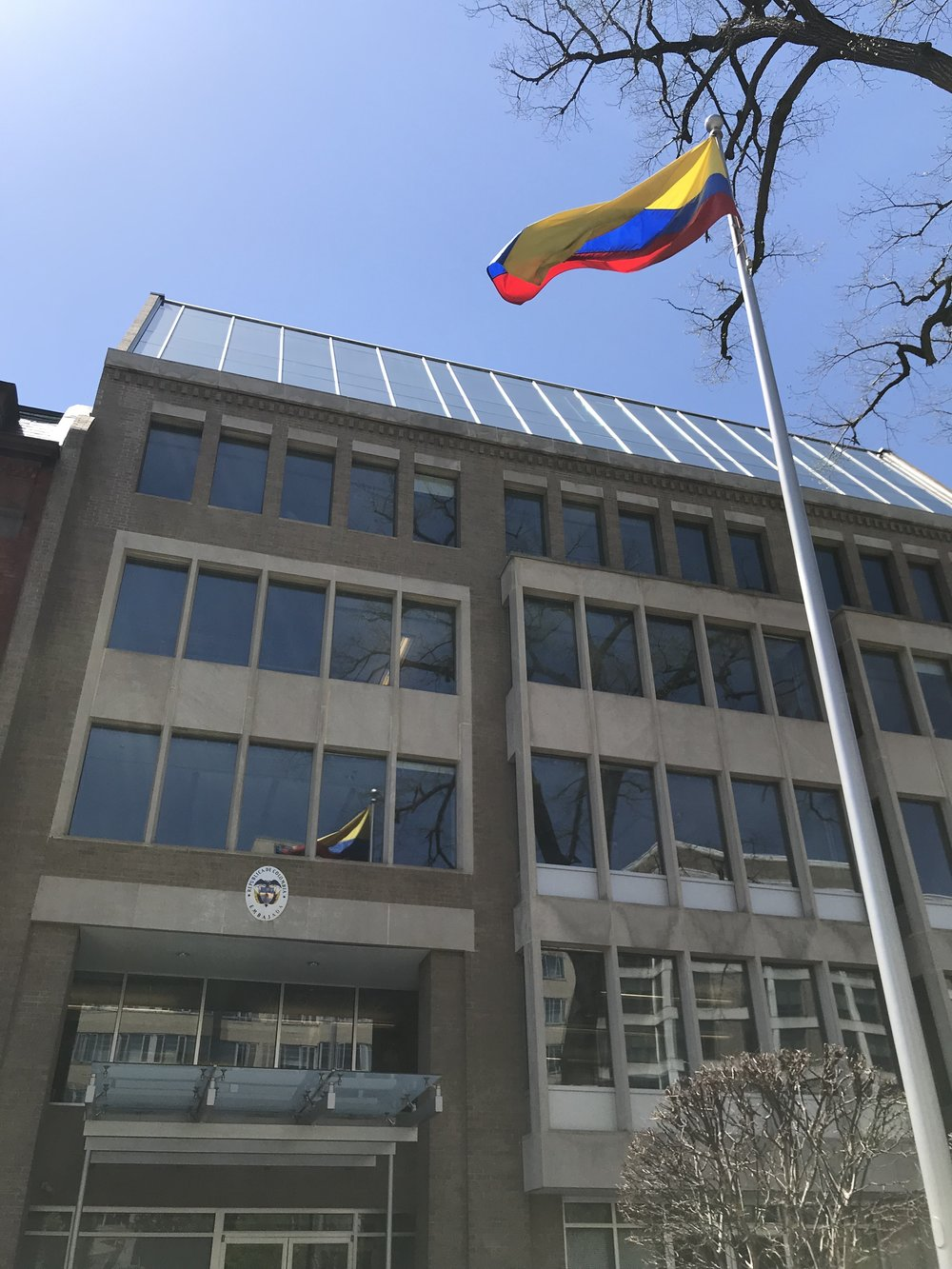 The Embassy of Colombia.