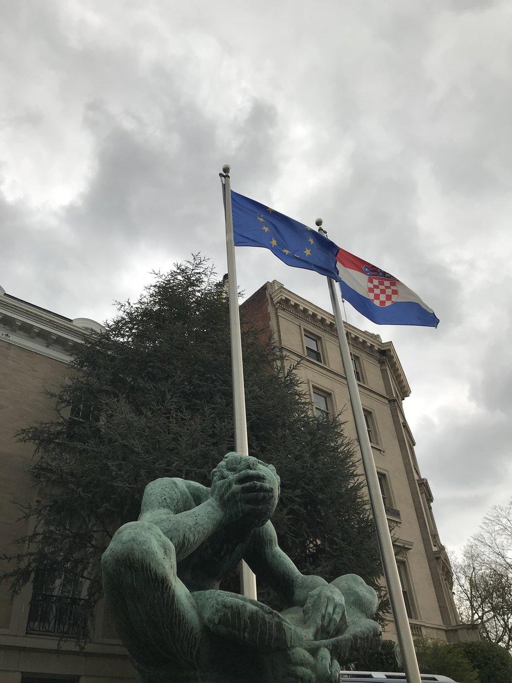 The Embassy of Croatia.