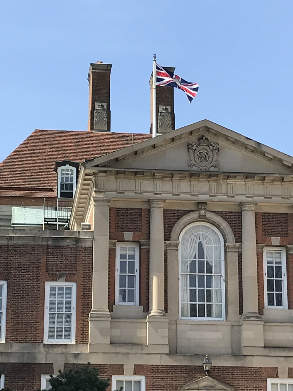 The Embassy of Great Britain.