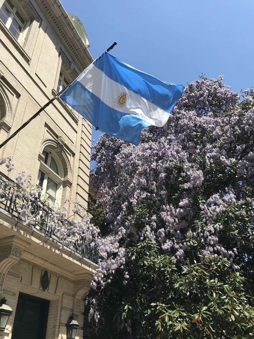 The Embassy of Argentina.