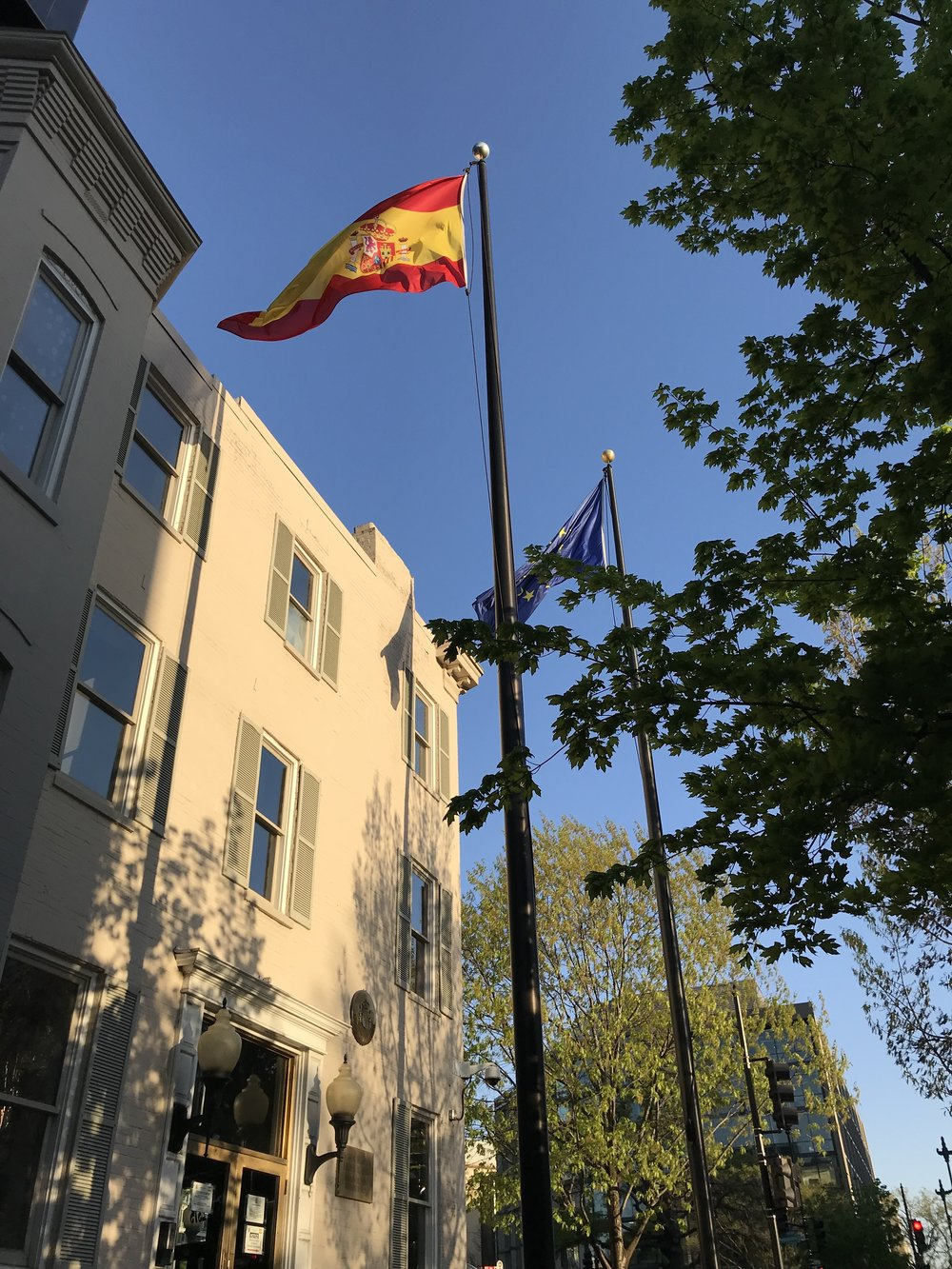 The Embassy of Spain.