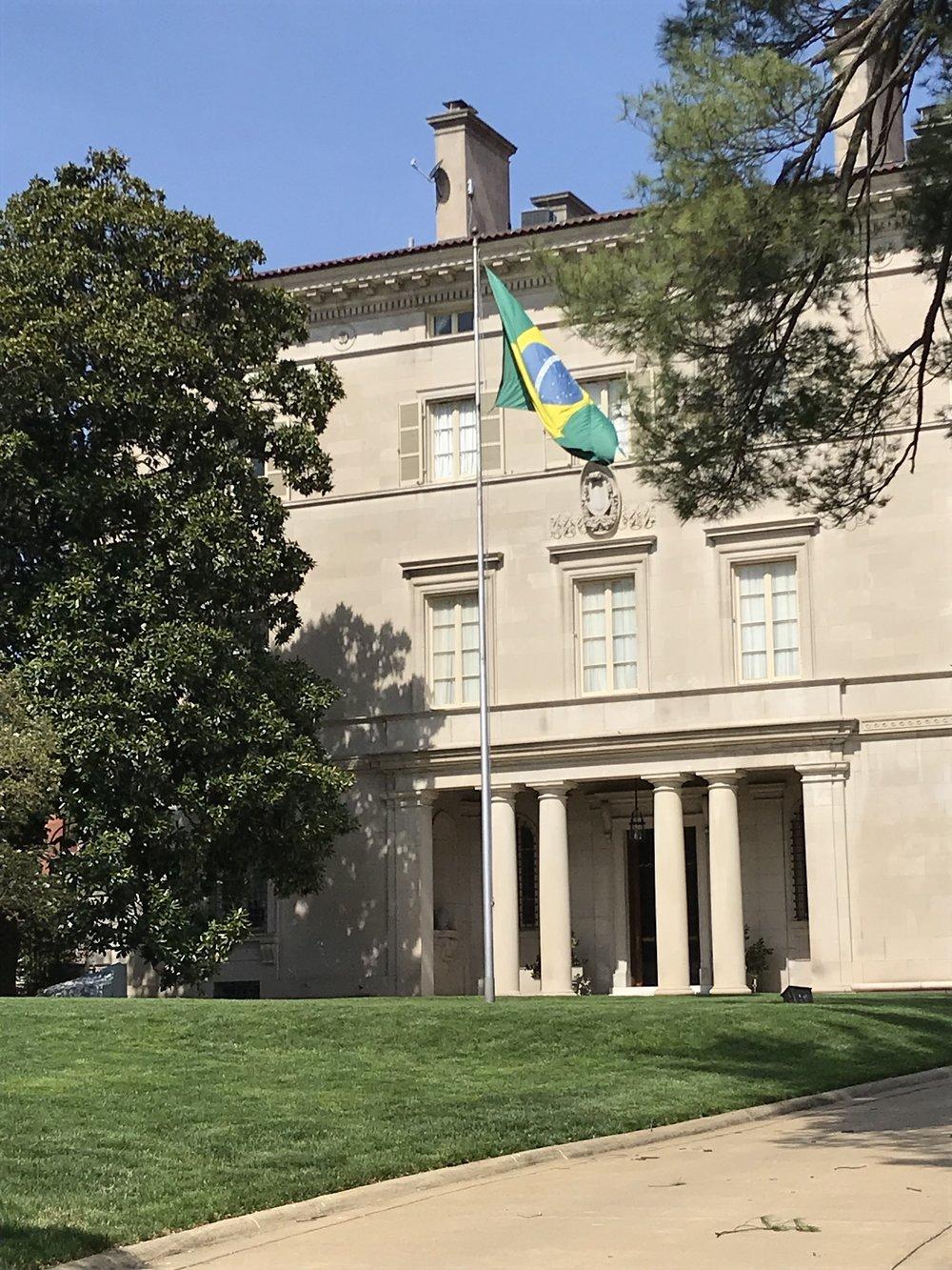 Residence of the Brazilian Ambassador.