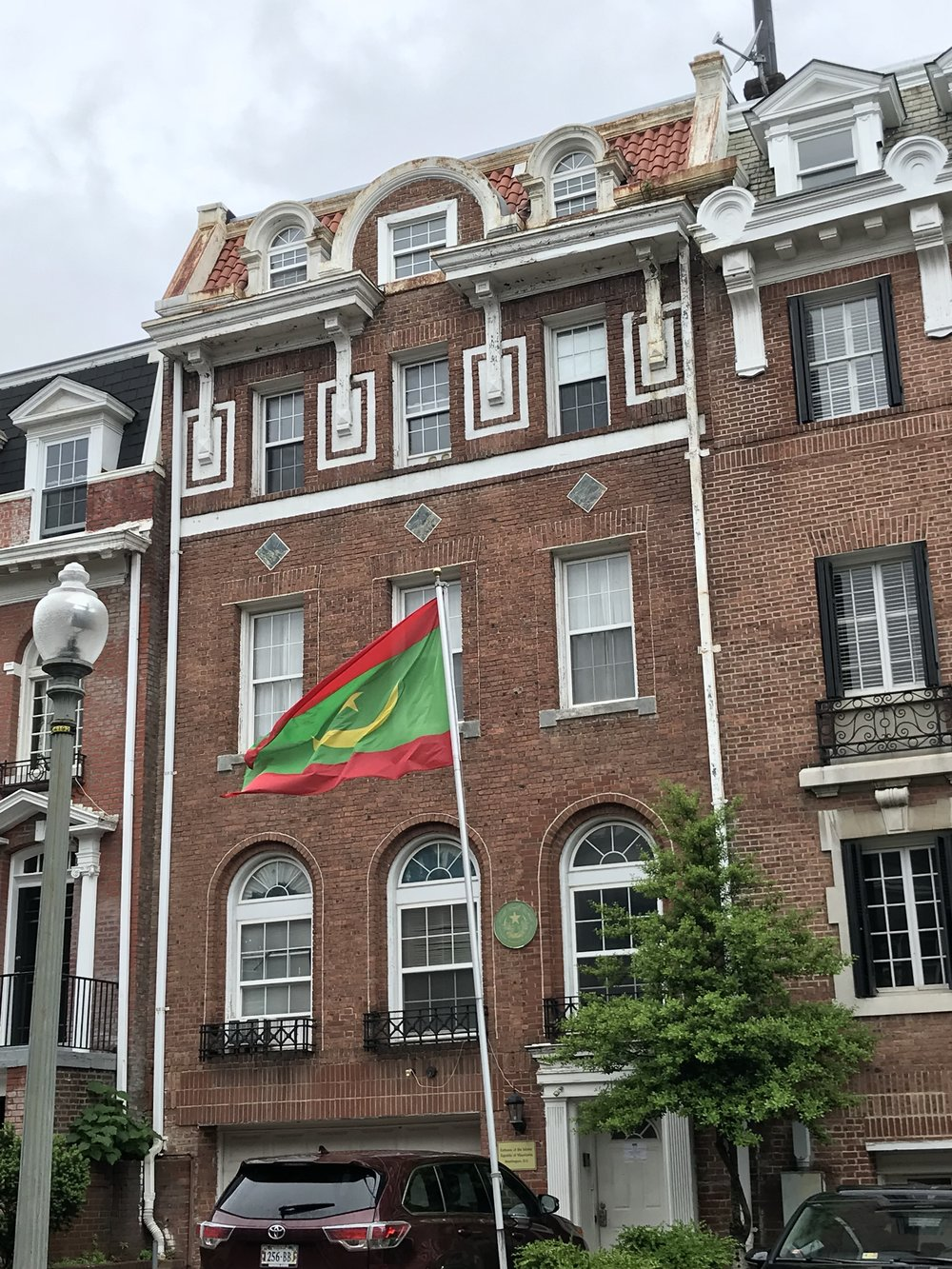 The Embassy of Mauritania.