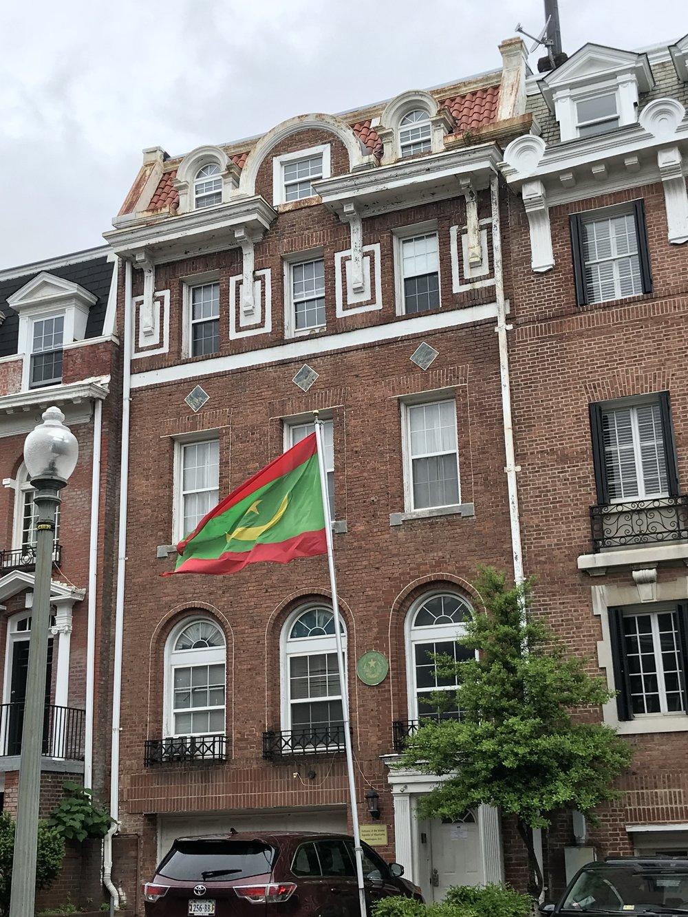 The Embassy of Mauritania.