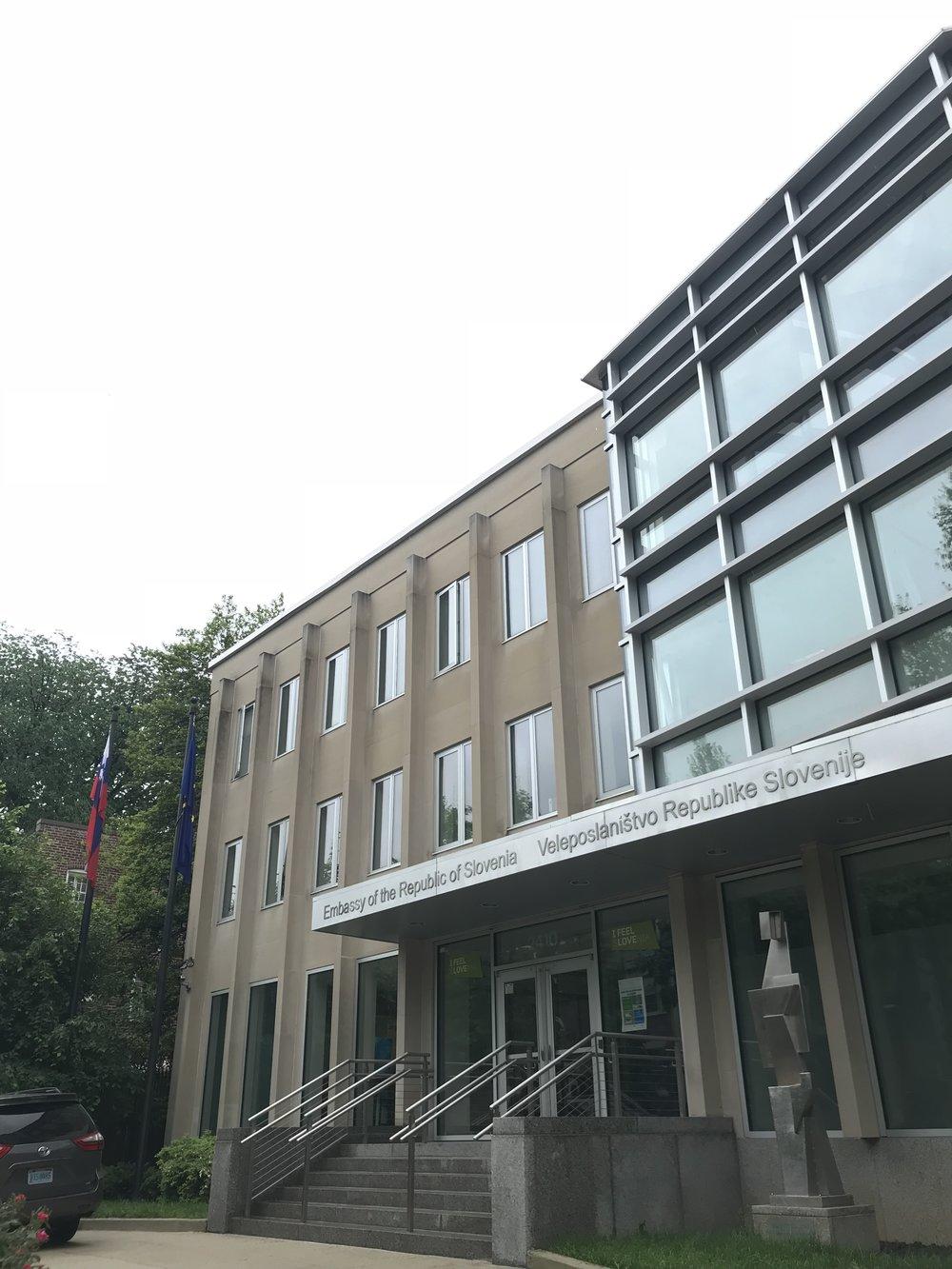 The Embassy of Slovenia.