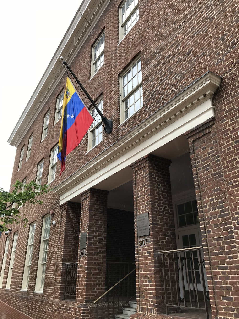 The Embassy of Venezuela.