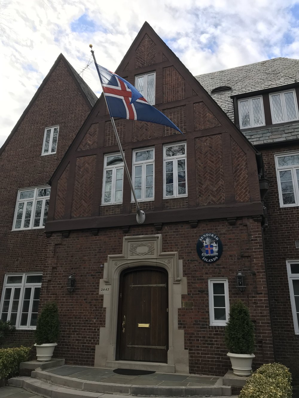 The Residence of the Ambassador of Iceland.