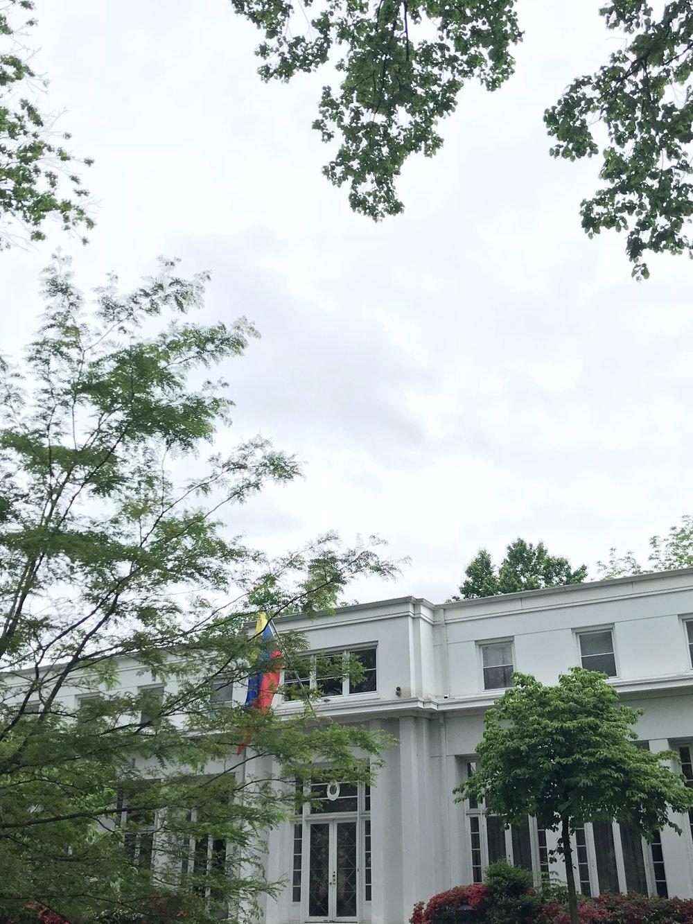 The Residence of the Venezuelan Ambassador.