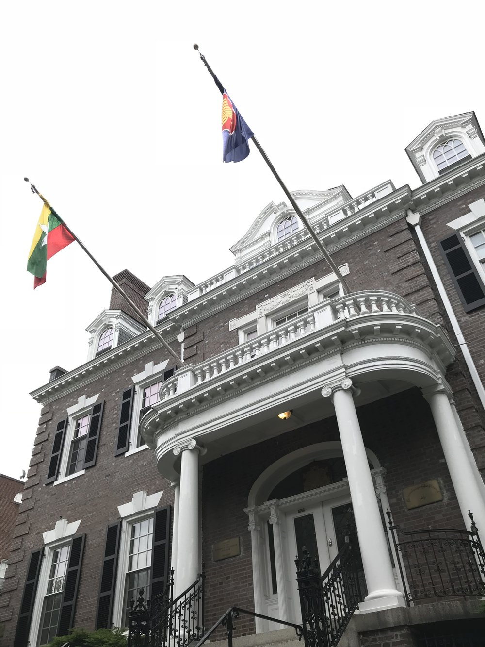 The Embassy of Myanmar.