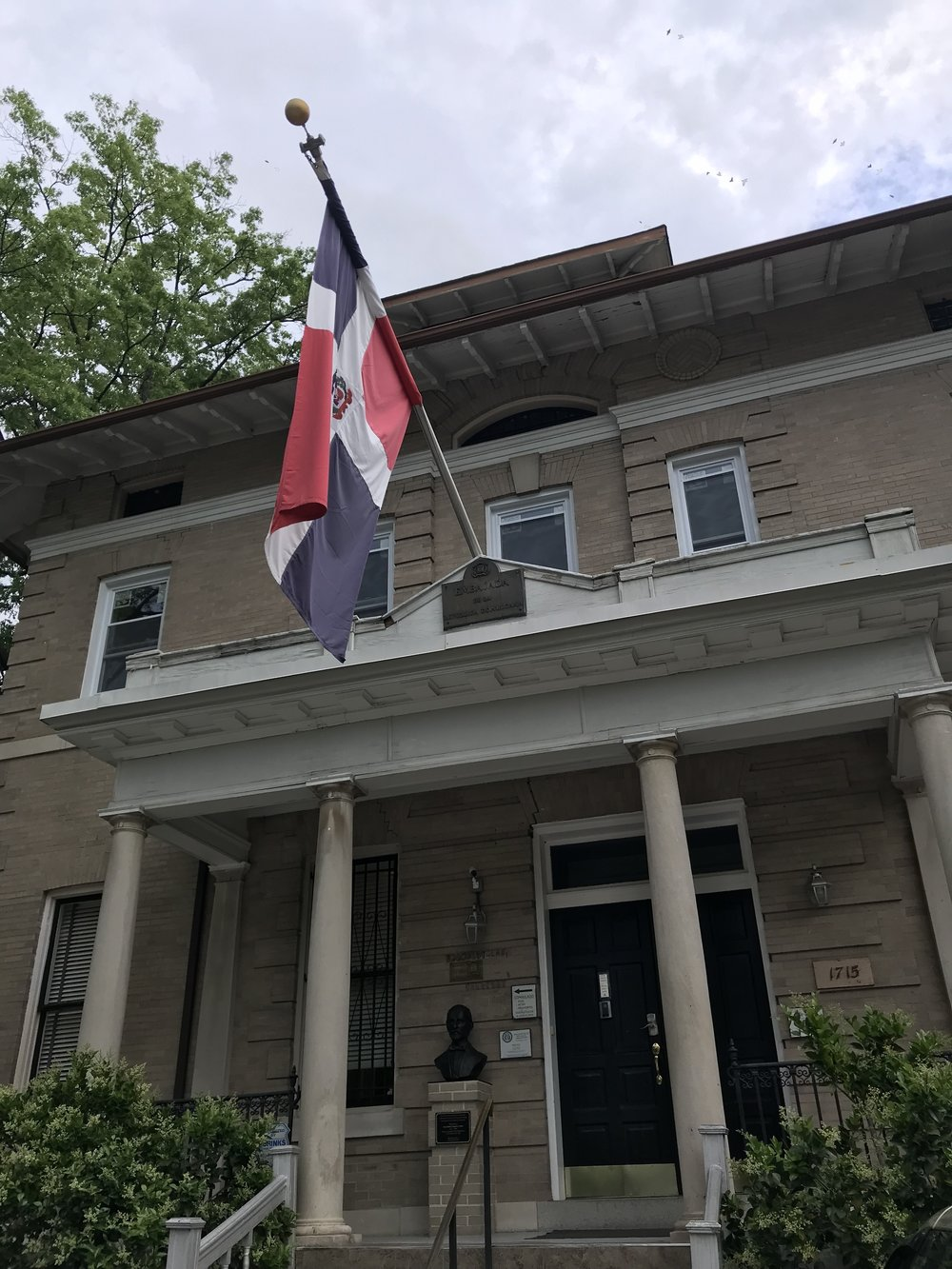 The Embassy of the Dominican Republic.