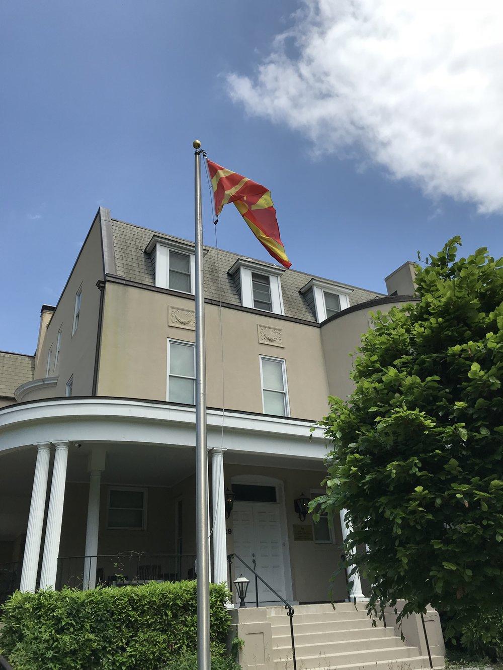 The Embassy of Macedonia.