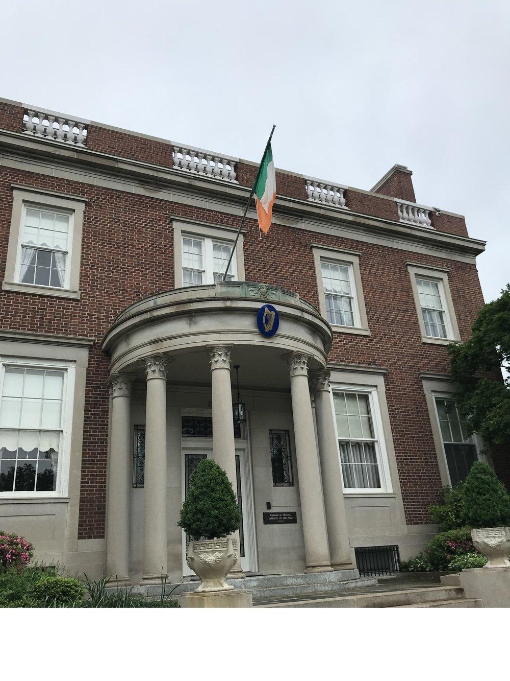 The Residence of the Ambassador of Ireland.