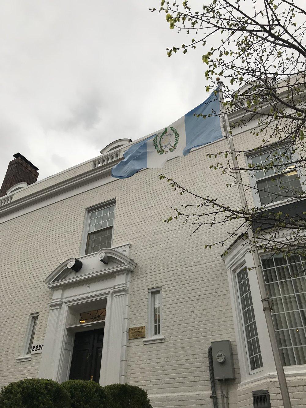 The Embassy of Guatemala.