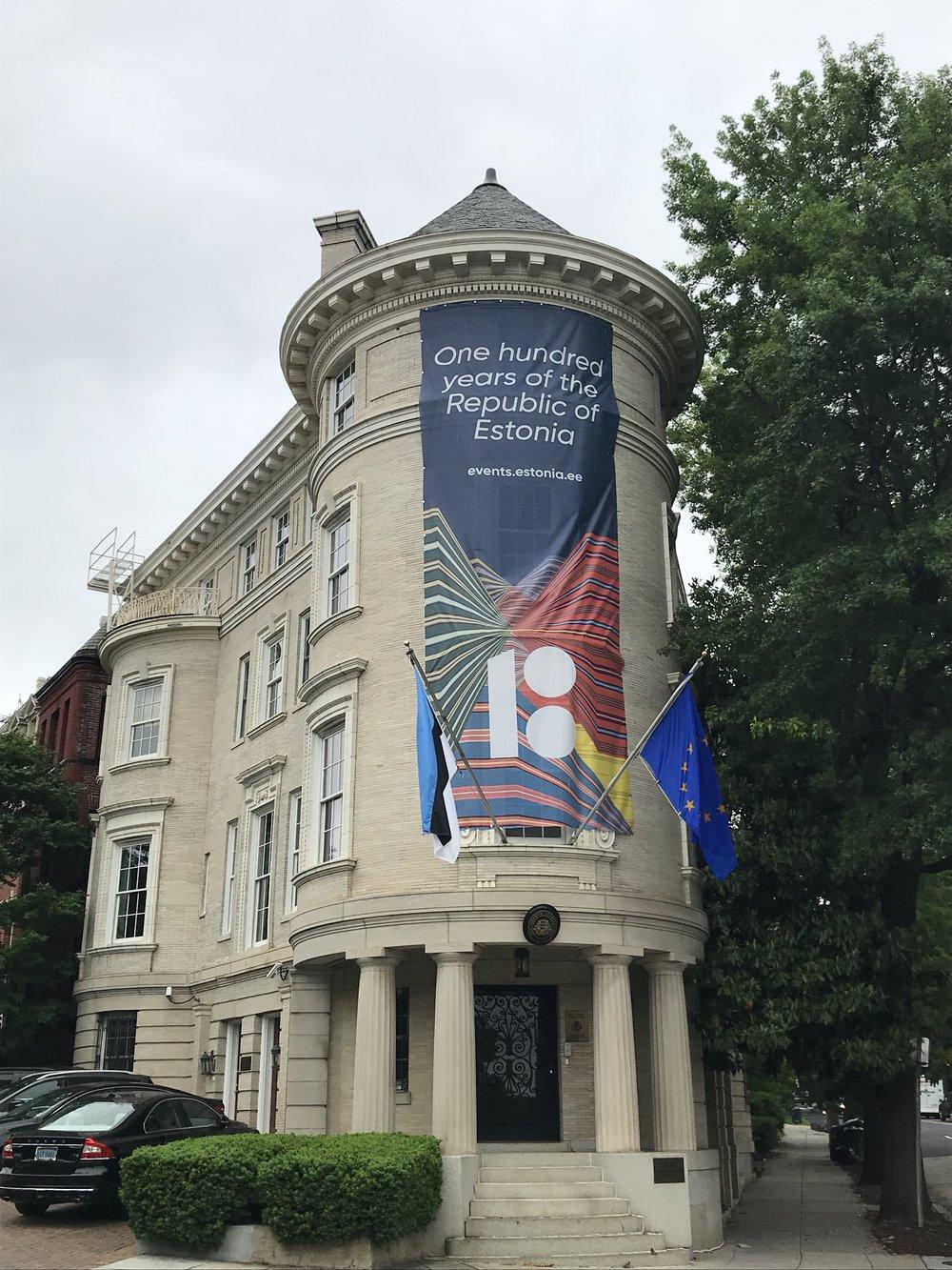 The Embassy of Estonia.