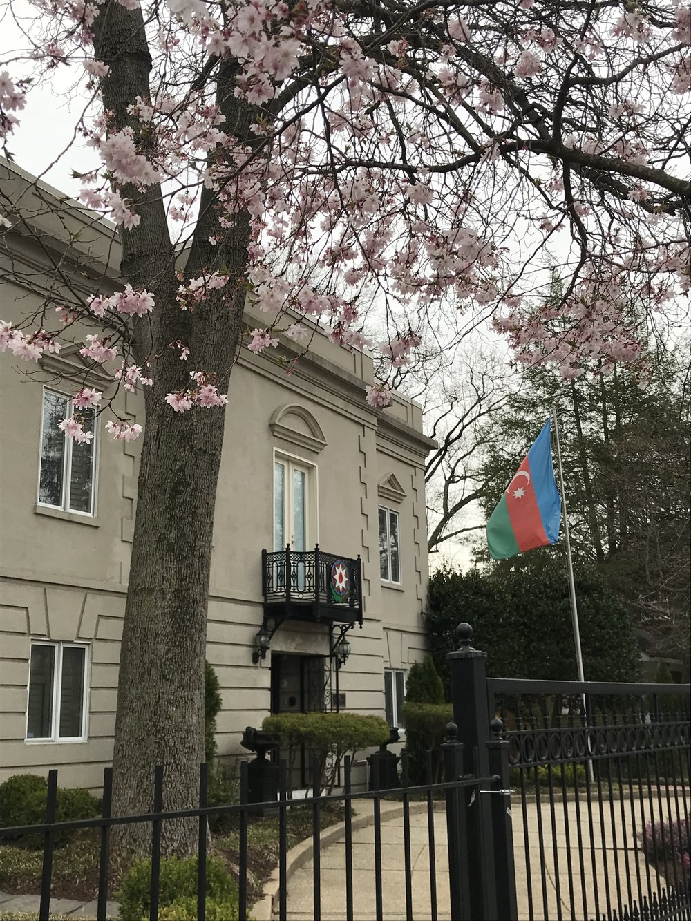 The Embassy of Azerbaijan.