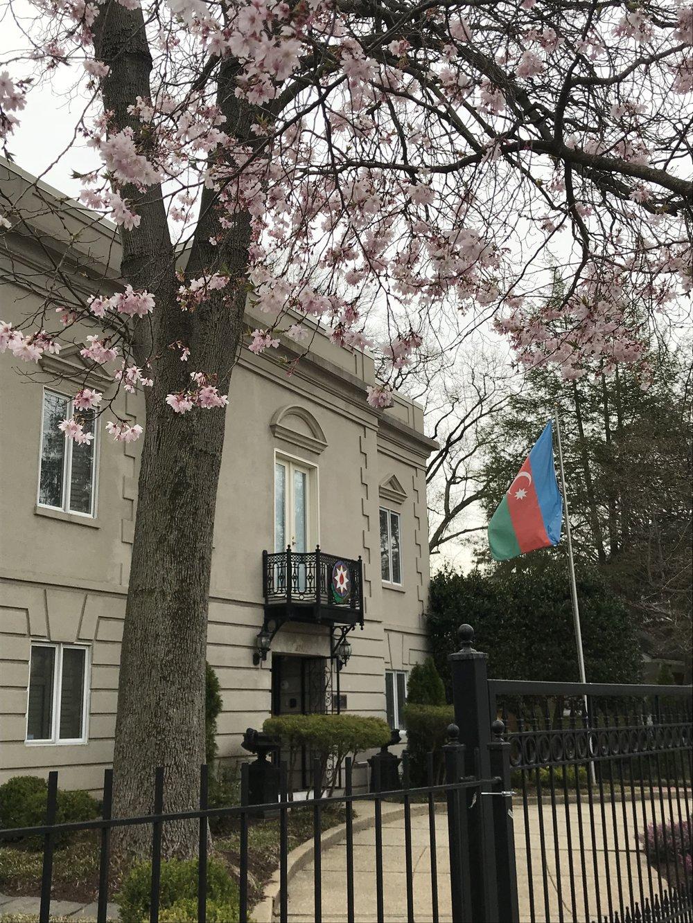 The Embassy of Azerbaijan.
