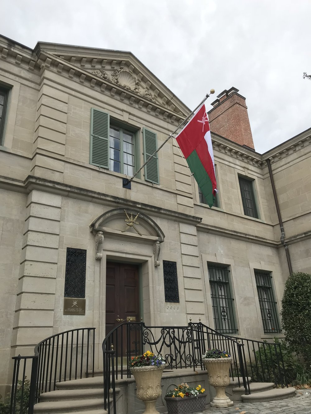 The Residence of the Ambassador of the Sultanate of Oman.