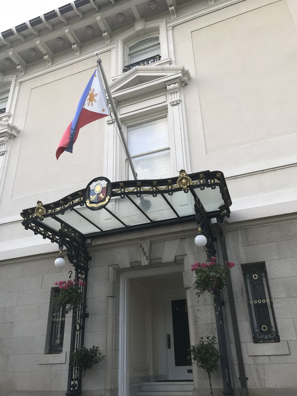 The Residence of the Ambassador of the Philippines.