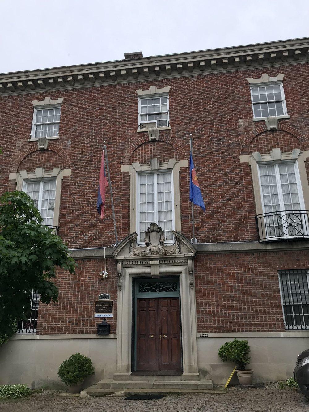 The Embassy of Laos.