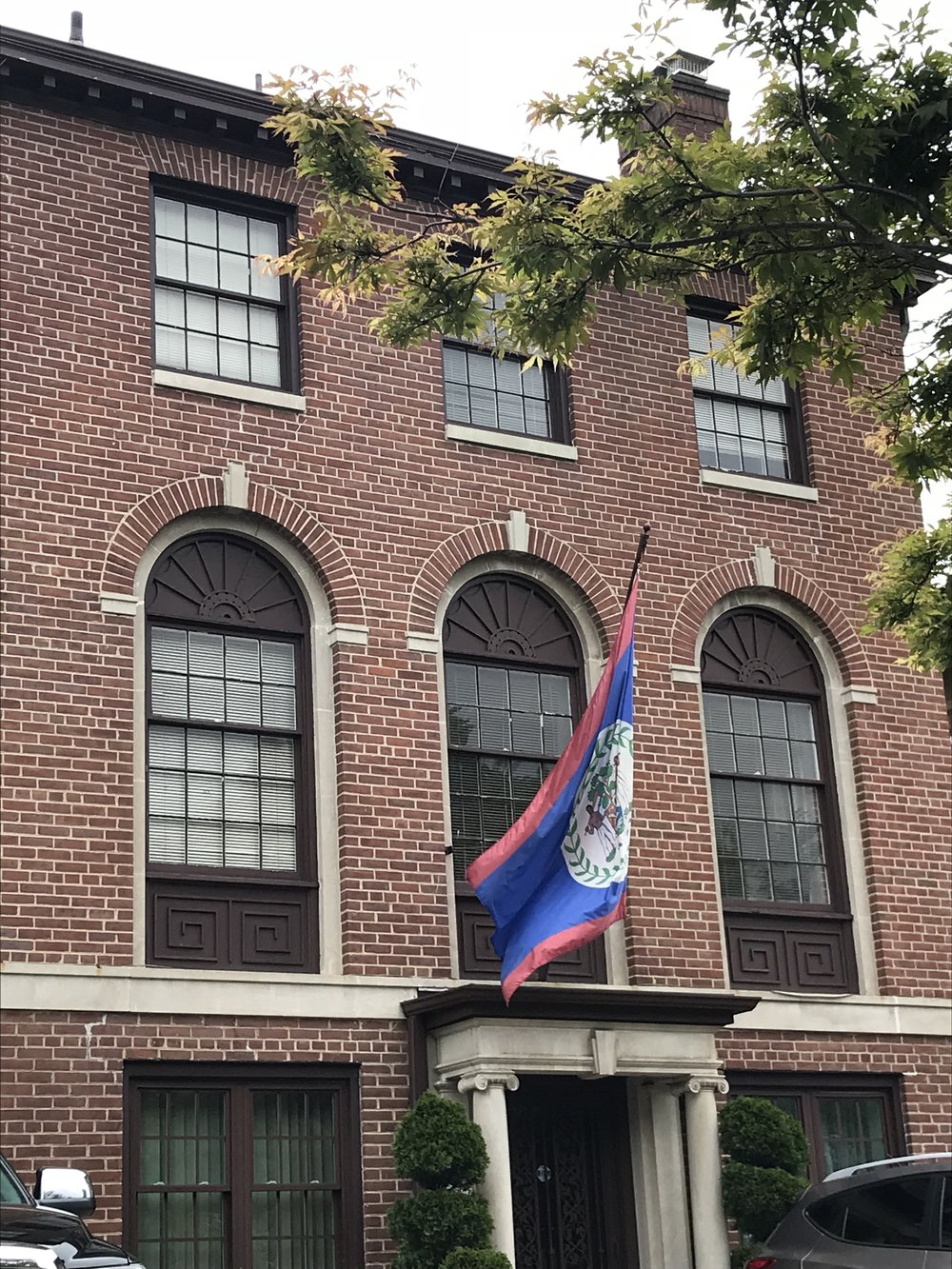 The Embassy of Belize.