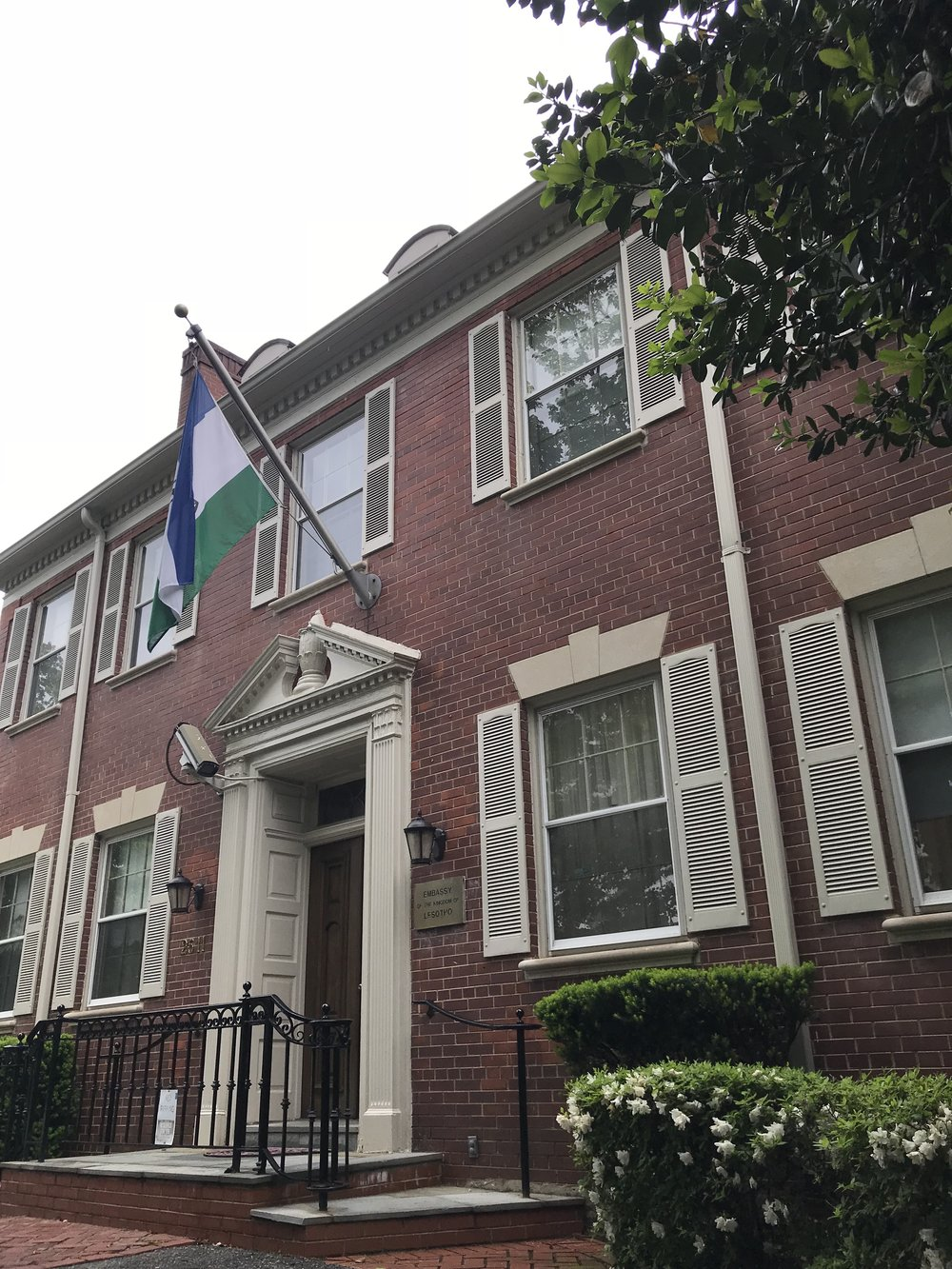 The Embassy of Lesotho.