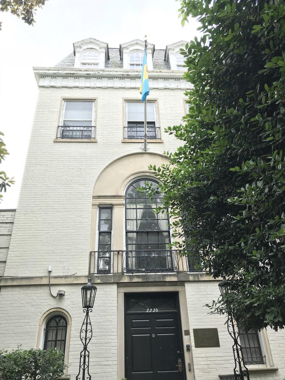 The Embassy of the Bahamas.