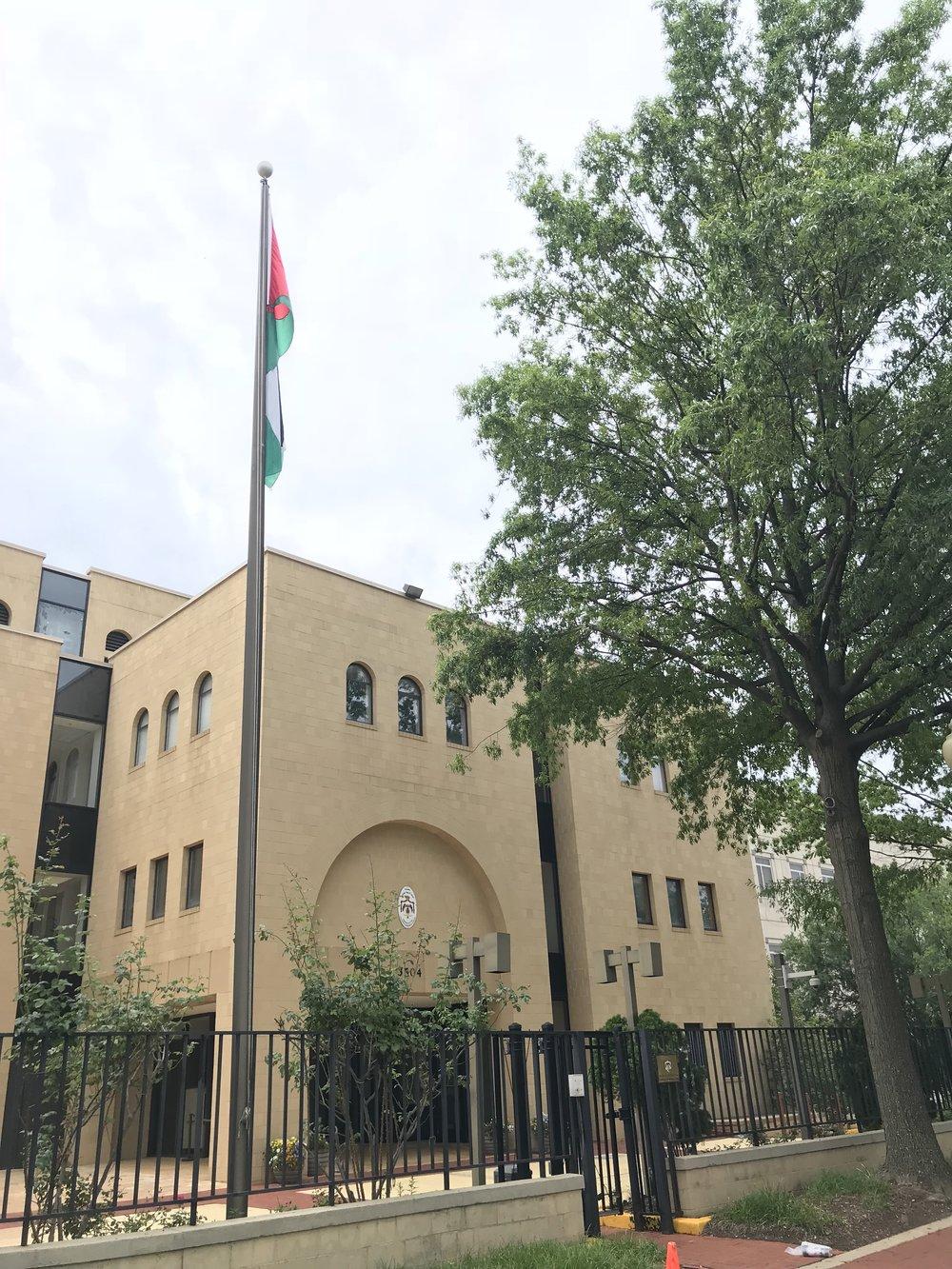 The Embassy of Jordan.