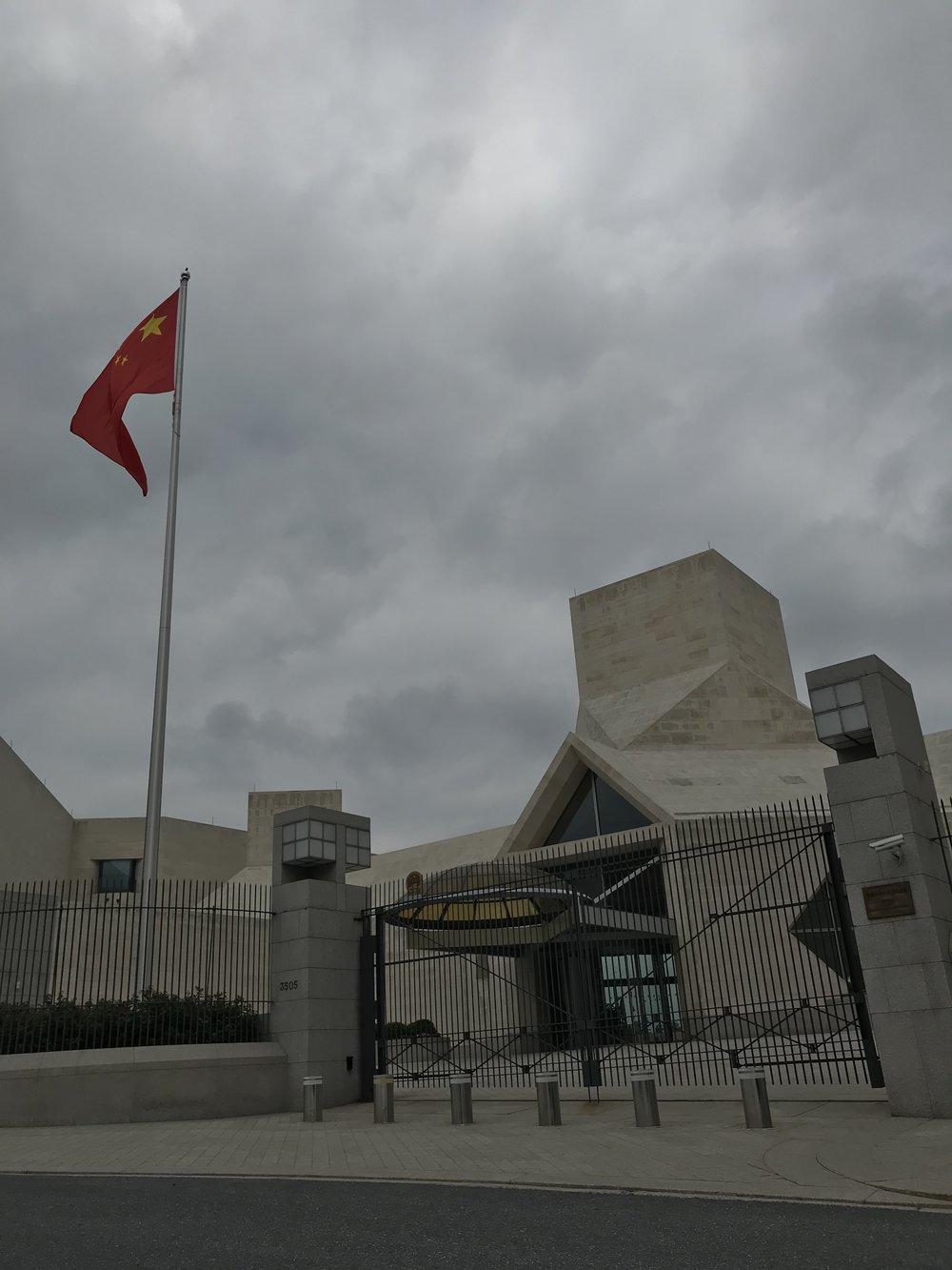 The Embassy of China.