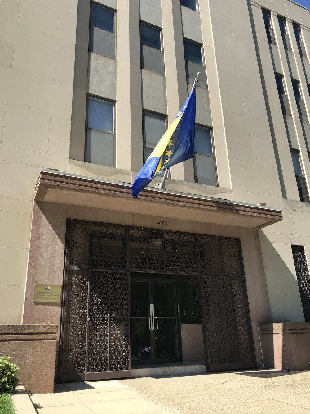 Embassy of Bosnia & Herzegovina.