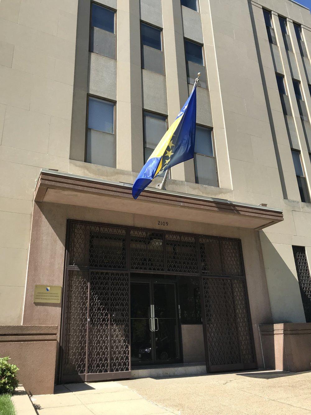 Embassy of Bosnia & Herzegovina.