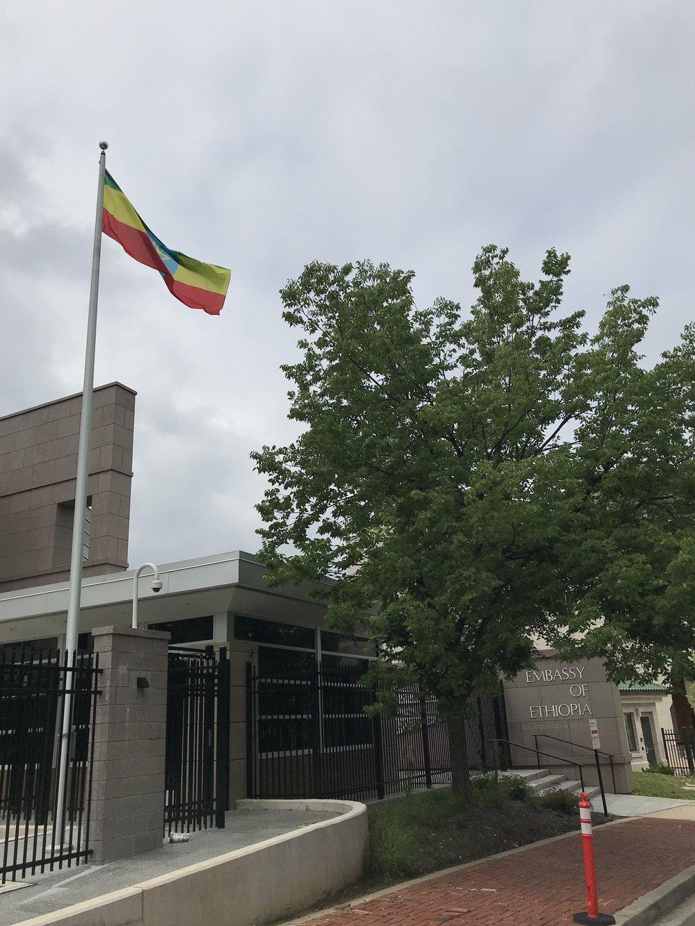The Embassy of Ethiopia.