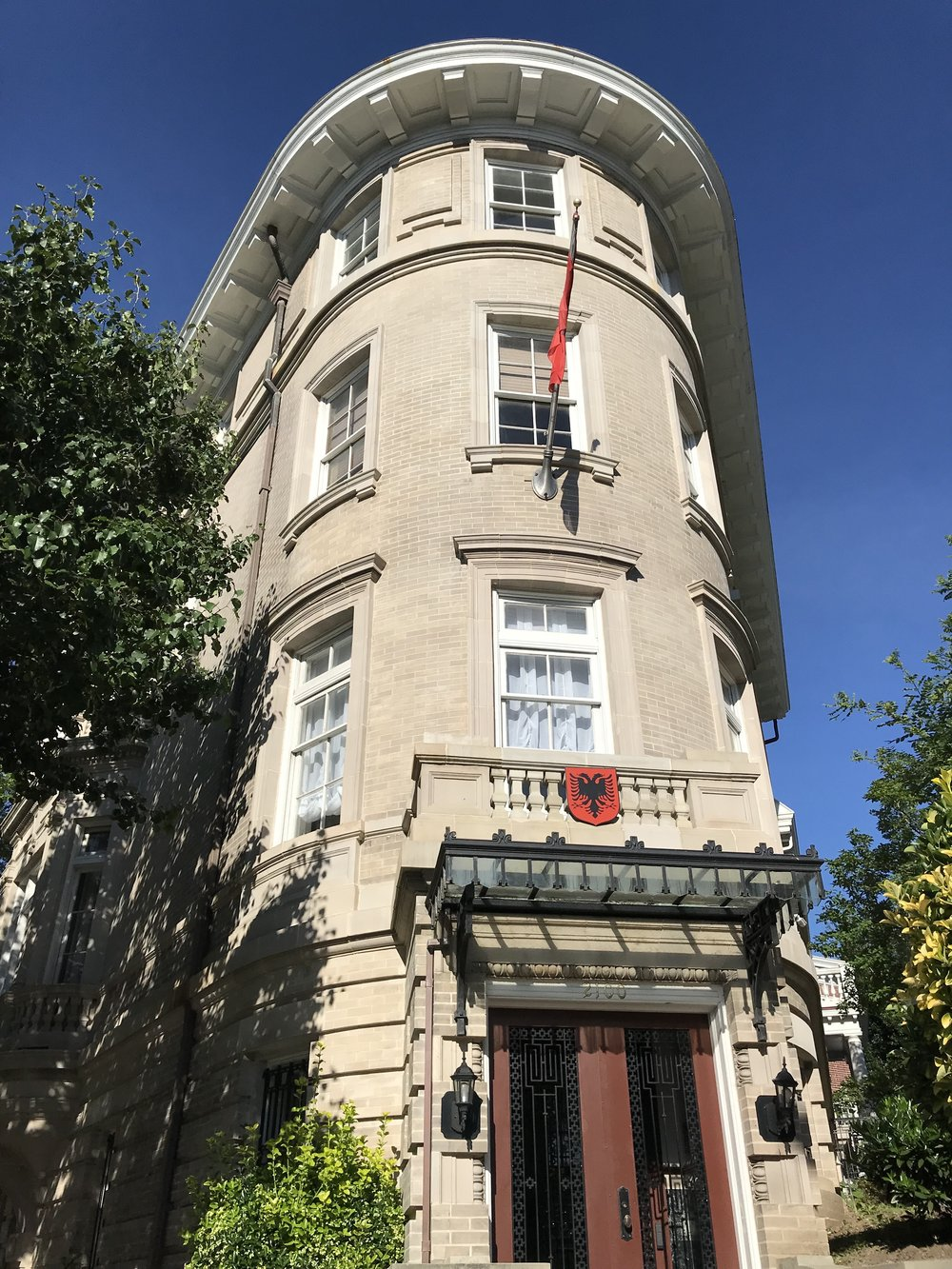 Embassy of Albania.
